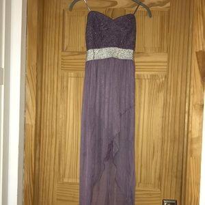 Trixxi - Junior High Low dress